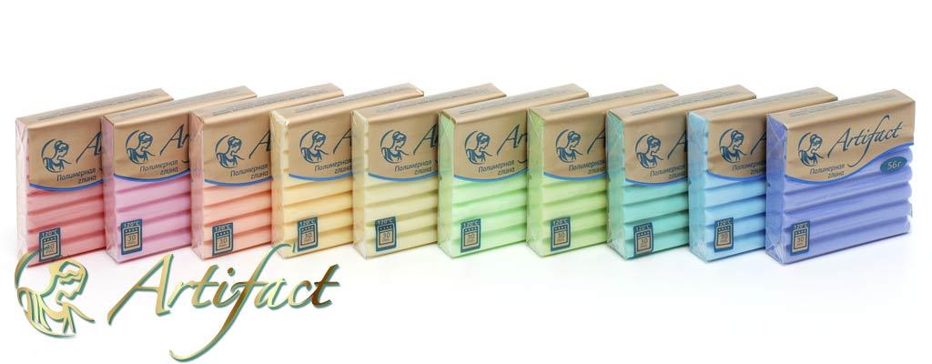 Полимерная глина Артефакт. Серия Шифон