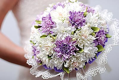Купить свадебный букет из фоамирана