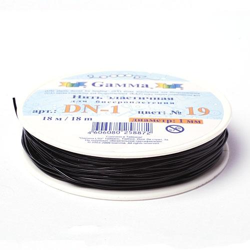 Версия для печати.  Эластичная нить для бисероплетения (термополиуретан).  Производитель: GAMMA Вес: 22 гр.