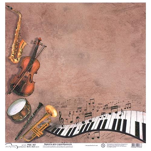 Открытки бумажные музыкальные