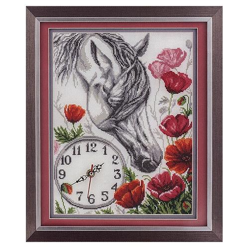 """Лошадь в маках"" 12.5х12.5"