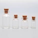 900013-5 Комплект стеклянных бутылочек с пробкой (4 шт.)
