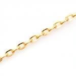 301289-1 Цепочка декоративная 5х3.3 мм, золото, (1 м.)