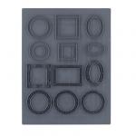 """CraftClay Штамп резиновый """"06 Рамочки"""" 10х14 см, (CCQ-08)"""