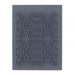 """CraftClay Штамп резиновый """"04 Фон. Узоры"""" 10х14 см, (CCQ-08)"""