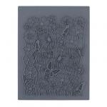 """CraftClay Штамп резиновый """"07 Фон. Цветение"""" 10х14 см, (CCQ-08)"""