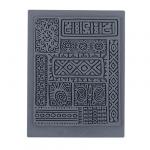 """CraftClay Штамп резиновый """"08 Фон. Древность"""" 10х14 см, (CCQ-08)"""