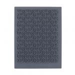 """CraftClay Штамп резиновый """"03 Фон. Волны"""" 10х14 см, (CCQ-08)"""