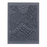 """CraftClay Штамп резиновый """"10 Фон. Узоры"""" 10х14 см, (CCQ-08)"""
