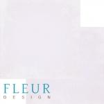 """Fleur Design Бумага для скрапбукинга, Романтика """"Винтаж Орхидея"""" 30х30 см."""