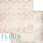 """Fleur Design Бумага для скрапбукинга, Воспоминания """"Цветочный танец"""" 30х30 см."""