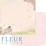 """Fleur Design Бумага для скрапбукинга, Девочки """"Малышка"""" 30х30 см."""