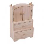 Mr. Carving Деревянная заготовка Шкаф, 22х14х7 см. (BN-010)