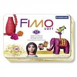 FIMO soft комплект полимерной глины НОСТАЛЬГИЯ в металлическом боксе (8023 51 P)