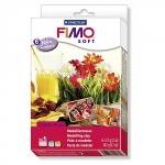 FIMO soft, Набор полимерной запекаемой глины ТЕПЛЫЕ ЦВЕТА (8023 03)