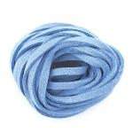 EFCO Шнур из алькантары, голубой, 3 мм/3м