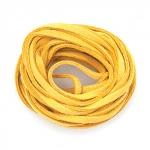 EFCO Шнур из алькантары, жёлтый, 3 мм/3м
