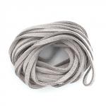 EFCO Шнур из алькантары, серый, 3 мм/3м