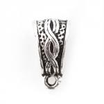 300788 Бэйл треугольной формы, античное серебро
