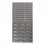 ScrapBerrys Контурные наклейки ПРИГЛАШЕНИЕ НА СВАДЬБУ, серебряные