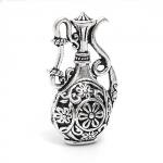 "300927 Подвеска 3D ""Кувшин"", античное серебро"