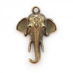 "300961 Подвеска ""Слон"", античная бронза"