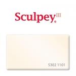 Sculpey III (S302 1101) запекаемая полимерная глина, перламутровый, 57 г.