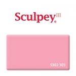 Sculpey III (S302 303) запекаемая полимерная глина, розовый, 57 г.