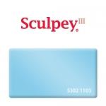 Sculpey III (S302 1103) запекаемая полимерная глина, перламутровый светло-голубой, 57 г.