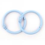 ScrapBerrys Кольца для альбома, 20 мм, голубые (2 шт.)