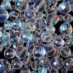 """Preciosa Стеклянные бусины ассорти """"Seaside"""", № 50 прозрачные радужные, 250 г"""
