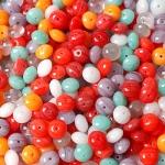 """Preciosa Стеклянные бусины ассорти """"Seaside"""", № 68 разноцветные (250 г)"""