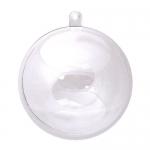 Шар пластиковый с подвесом, разъемный, 12 см