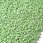 Preciosa 03161 Круглый бисер № 10, зелёный пастельный, 50 г.