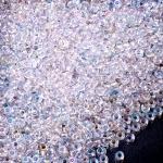 Preciosa 58205 Круглый бисер прозрачный радужный № 8, 50 г.