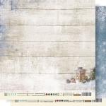 """Fleur Бумага для скрапбукинга """"ОЖИДАНИЕ ПРАЗДНИКОВ"""" (коллекция Крафтовая зима) 30х30 см."""
