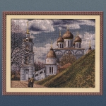 """Panna (АС-0334) Набор для вышивания 36х30 см """"Успенский кафедральный собор"""""""