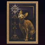 """Panna (К-0897) Набор для вышивания """"Египетская кошка"""" (Золотая серия)"""