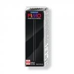 Fimo professional Большой блок, полимерная глина, чёрный, 350 г.