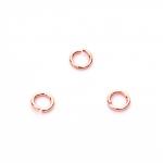 FayCraft Кольцо соединительное, 4.5 мм, цвет красная латунь (24 шт.)
