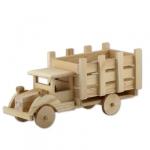 Mr. Carving Шкатулка деревянная, КРУГЛАЯ, 9х5 см