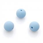 Zlatka Бусины акриловые, голубой, 14 мм, 25 шт. (ARW-14-10)