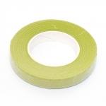 Флористическая лента 13 мм, светло-зелёная