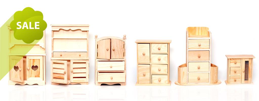 Деревянные заготовки - распродажа