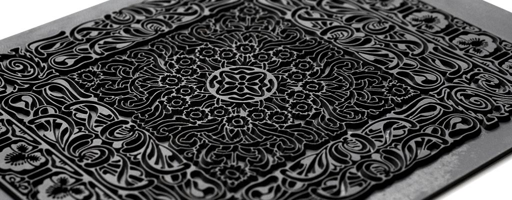 Текстурные листы - резиновые штампы Sculpey